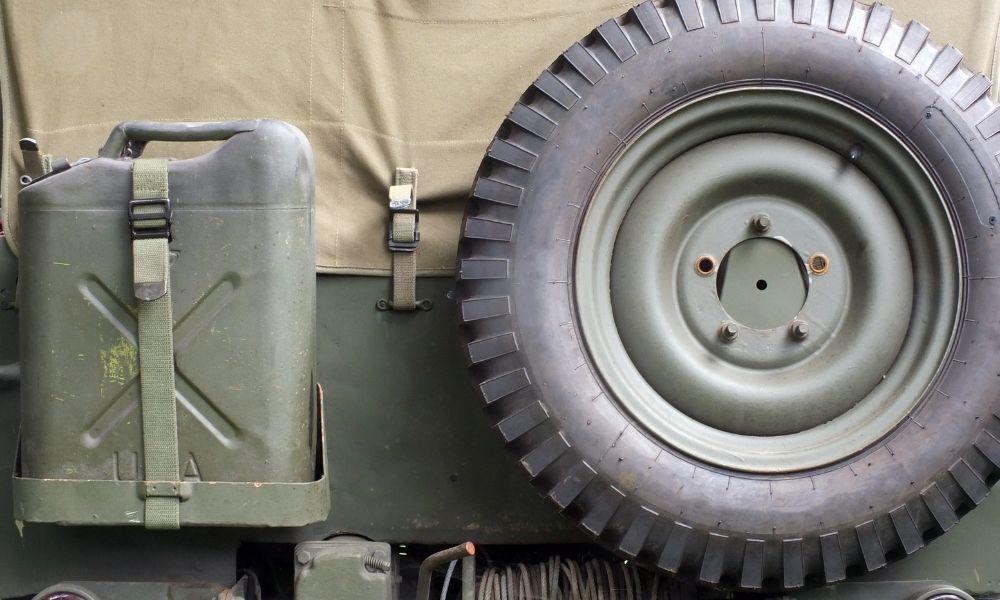Jeep MB/GPW Rear U-Bolt Installation
