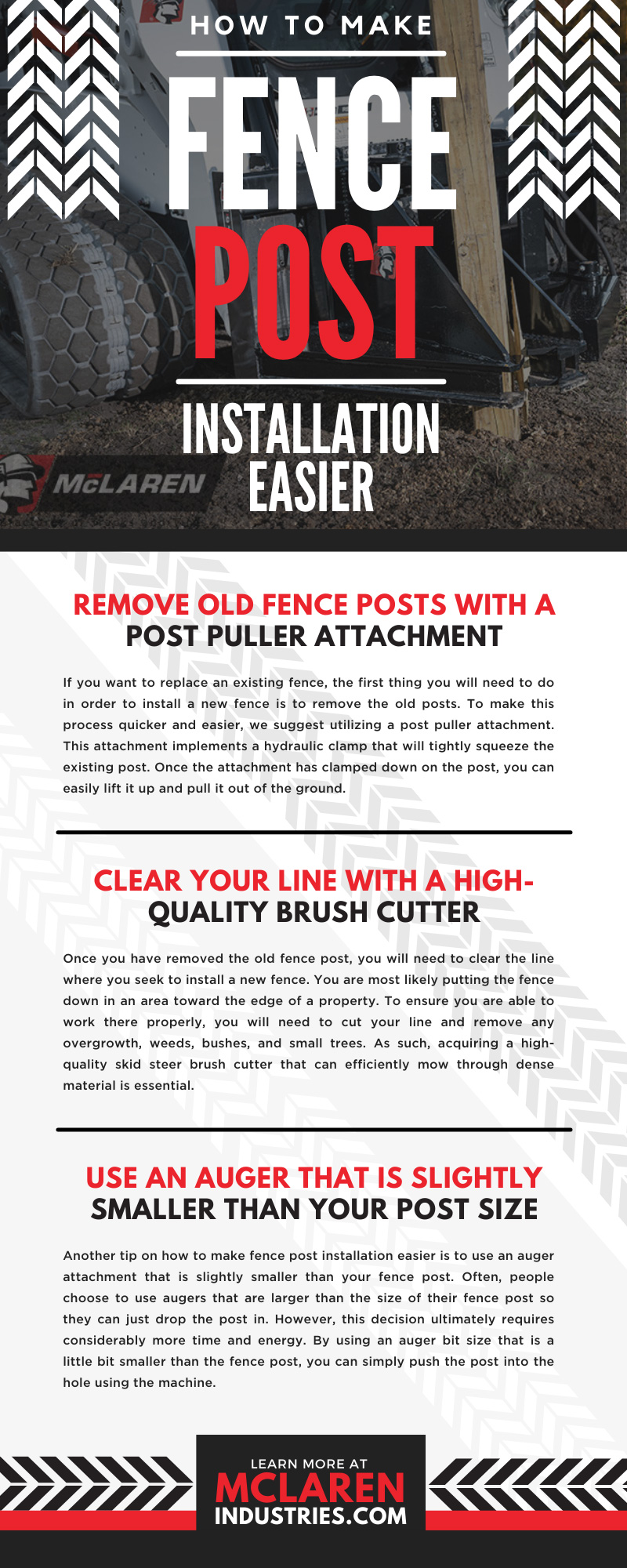 How To Make Fence Post Installation Easier