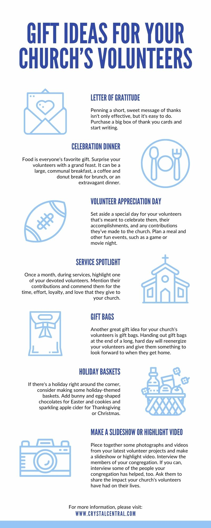 Gift Ideas for Your Church's Volunteers
