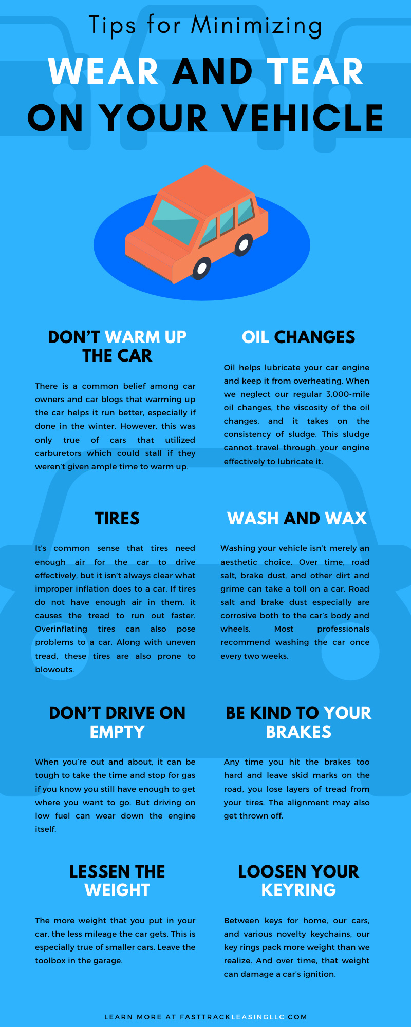 Tips for Minimizing Wear and Tear on Your Vehicle