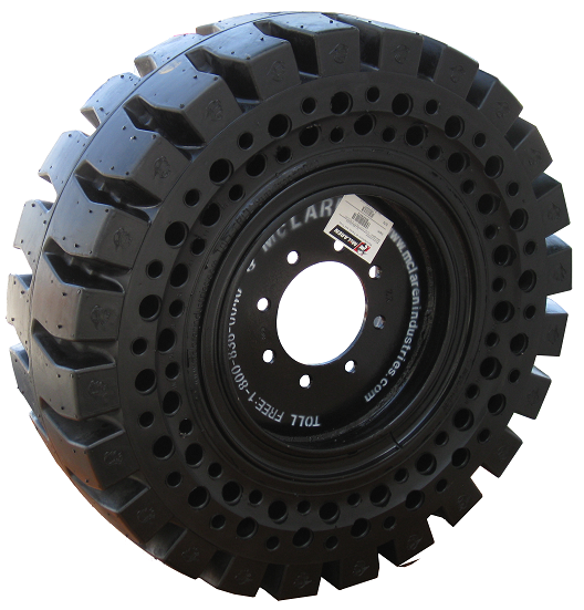 Solid Skid Steer Tires