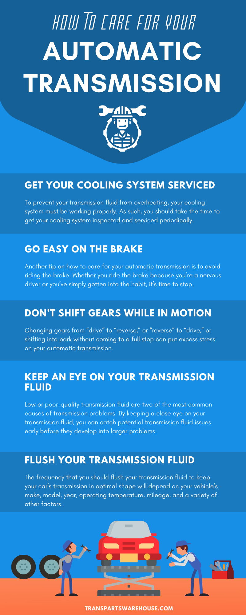 How to Care for Your Automatic Transmission