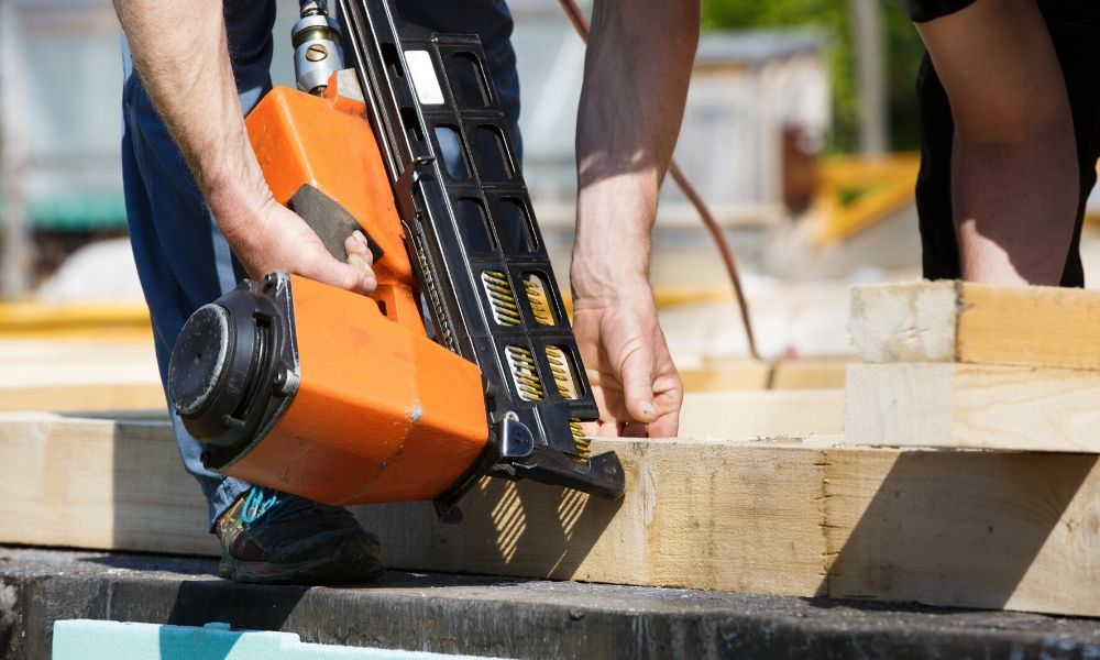 Nail Gun Techniques and Safety Tips