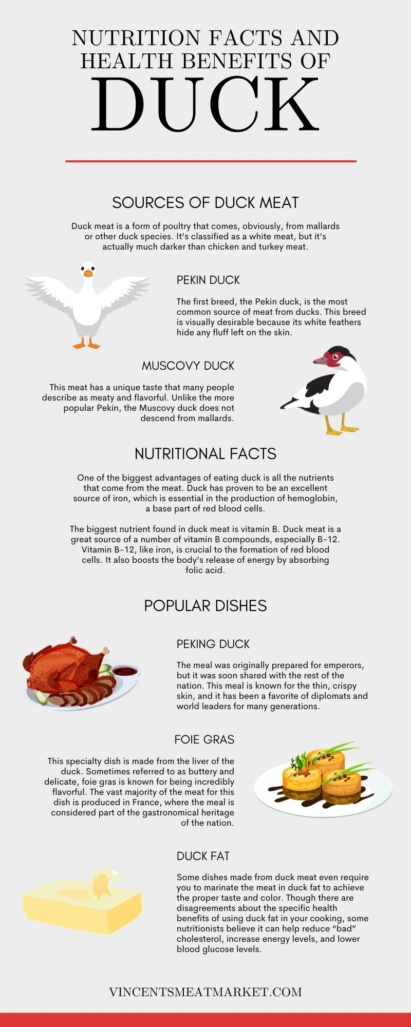 Nutrition Facts and Health Benefits of Duck