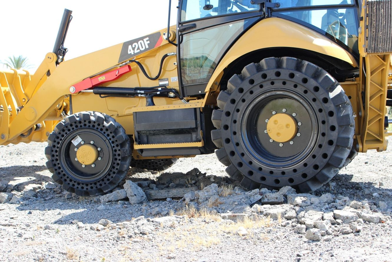 What to Look for in Backhoe Tires