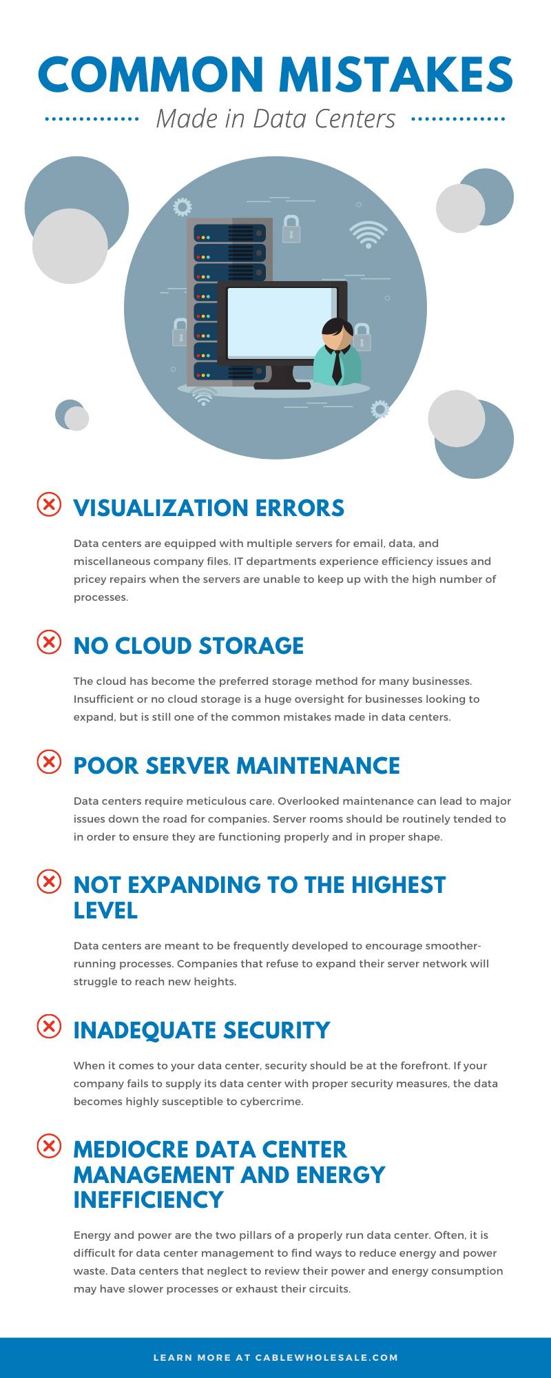 Common Mistakes Made in Data Centers