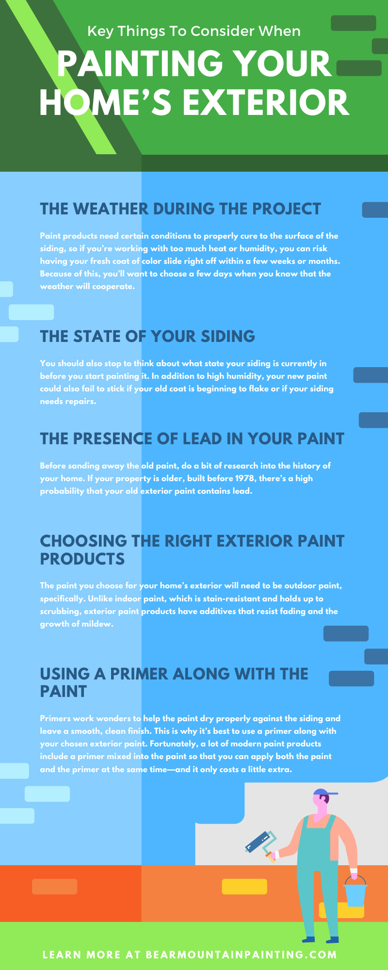 Key Things To Consider When Painting Your Home's Exterior