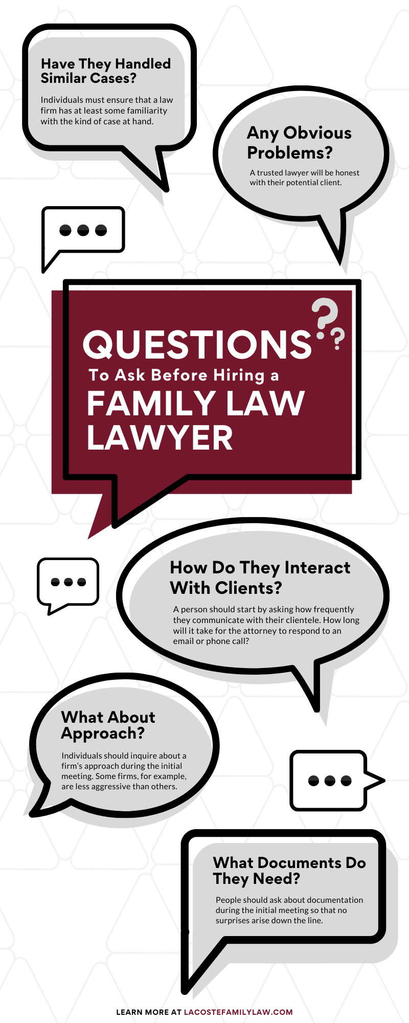 Questions to Ask Before Hiring a Family Law Lawyer