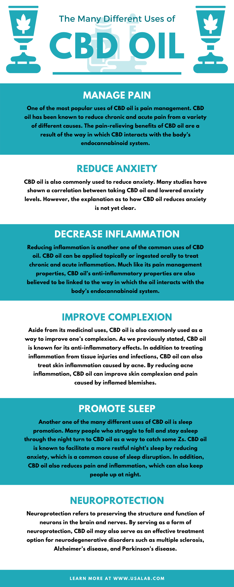 The Many Different Uses of CBD Oil