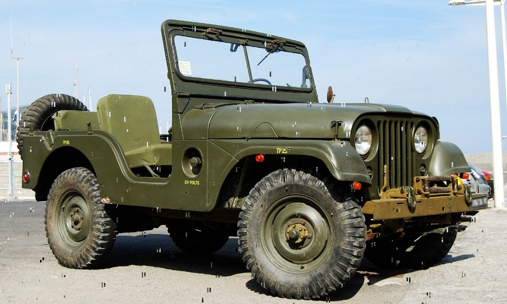 How the Military Jeep Became Today's Jeep Wrangler