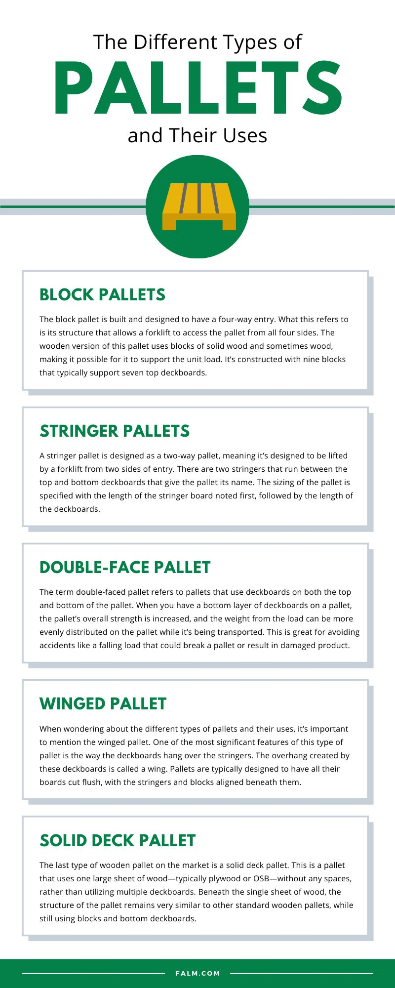 The Different Types of Pallets and Their Uses