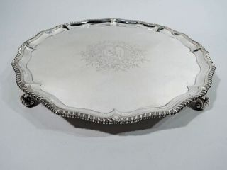 The History of Silver Salver Trays