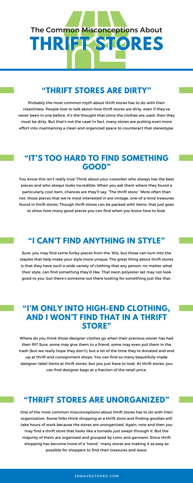 Misconceptions About Thrift Stores