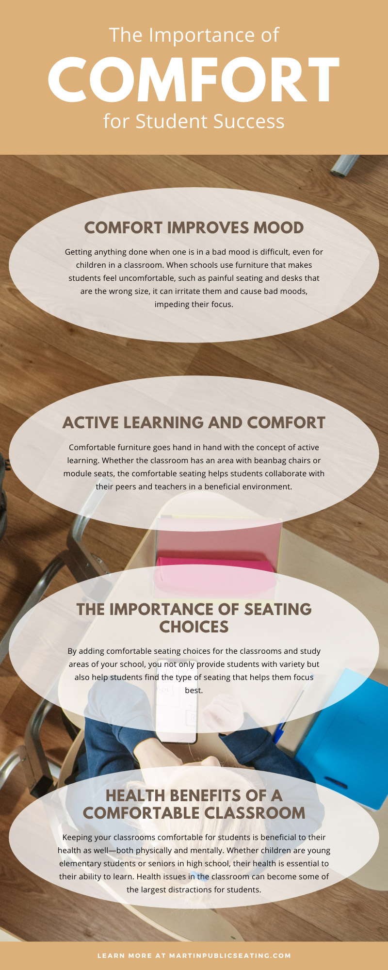 The Importance of Comfort for Student Success