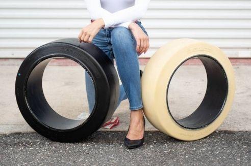 Non-Marking Forklift Tires