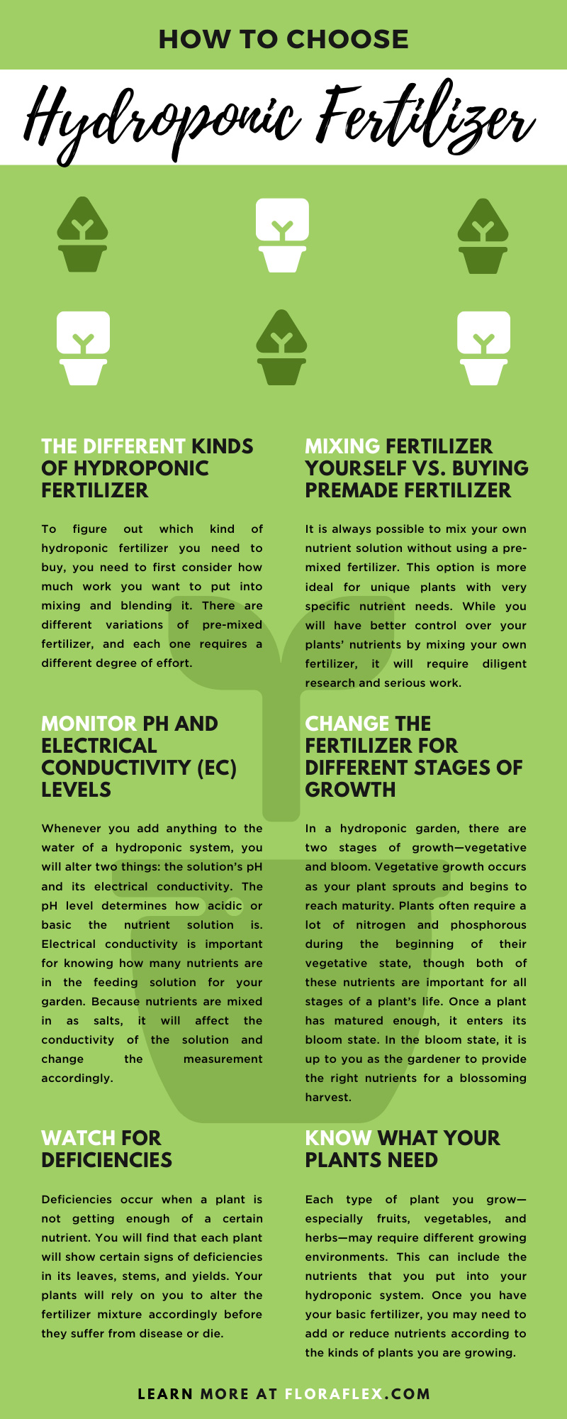 The Different Kinds of Hydroponic Fertilizer