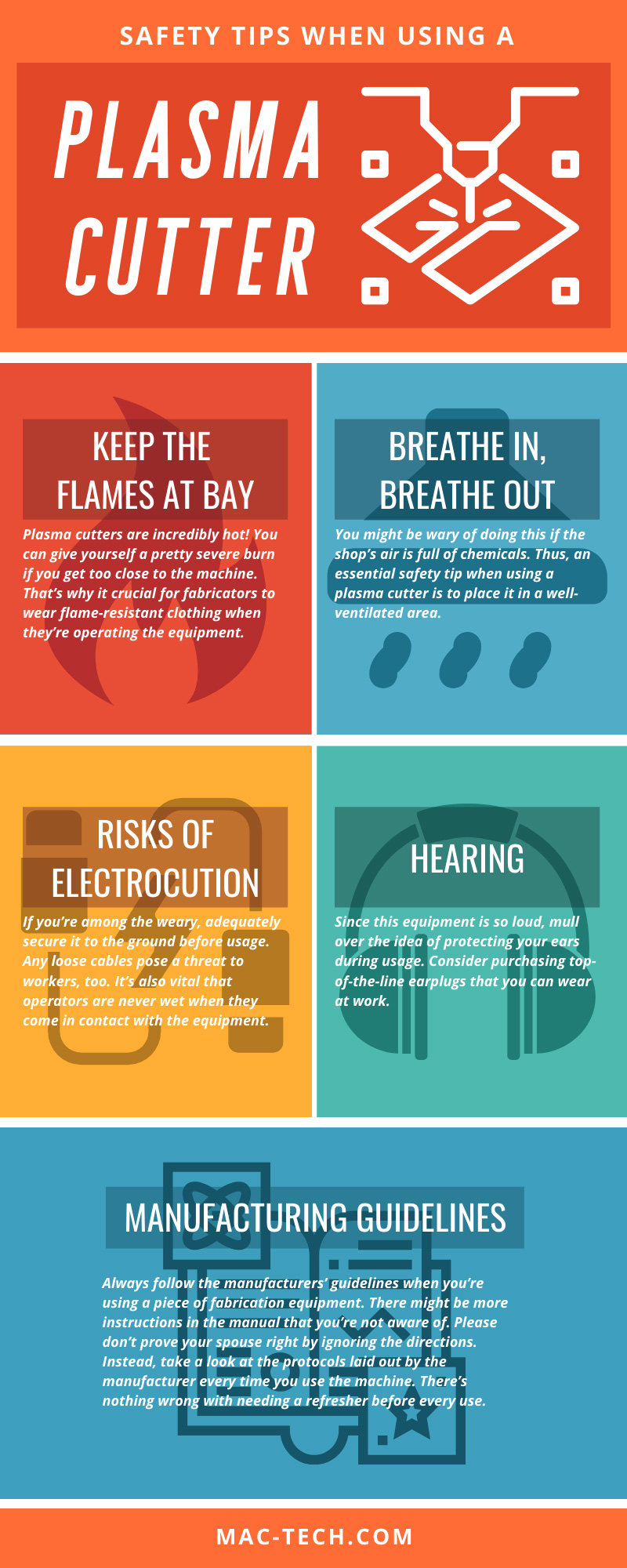 Safety Tips When Using a Plasma Cutter