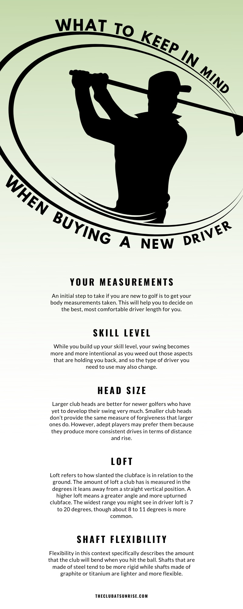 What to Keep in Mind When Buying a New Driver