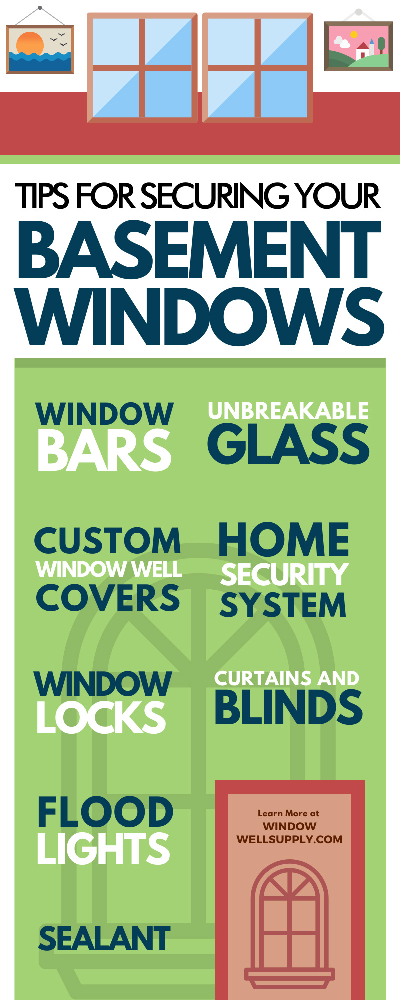 Tips for Securing Your Basement Windows
