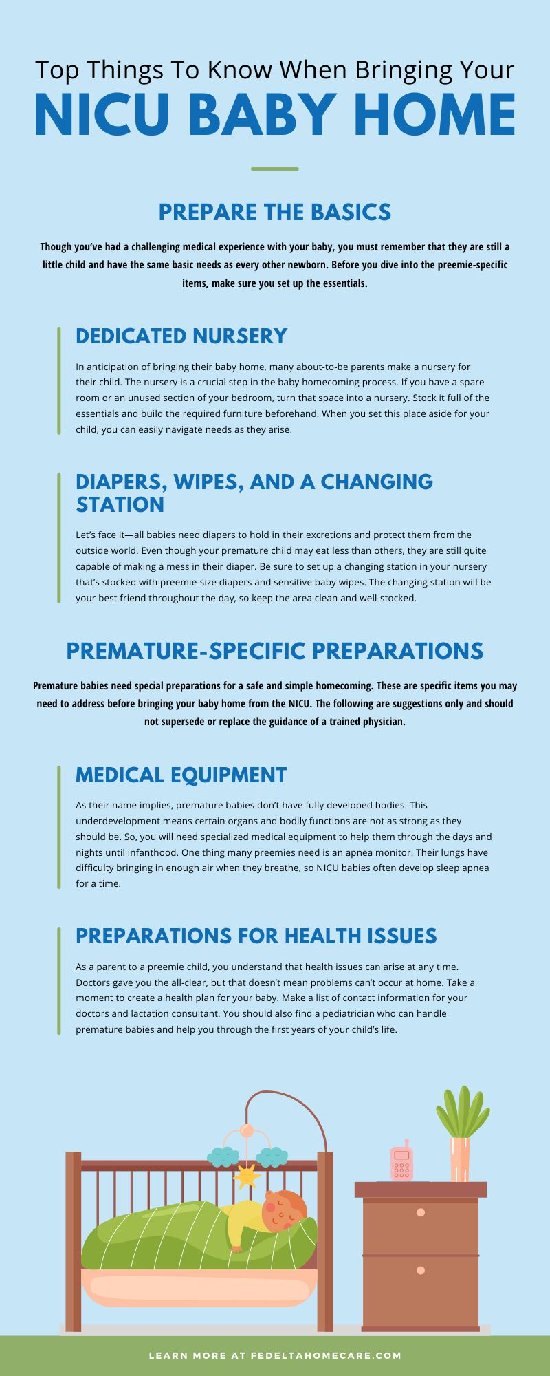 Top Things To Know When Bringing Your NICU Baby Home