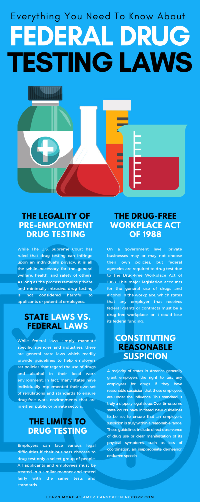 Everything You Need To Know About Federal Drug Testing Laws