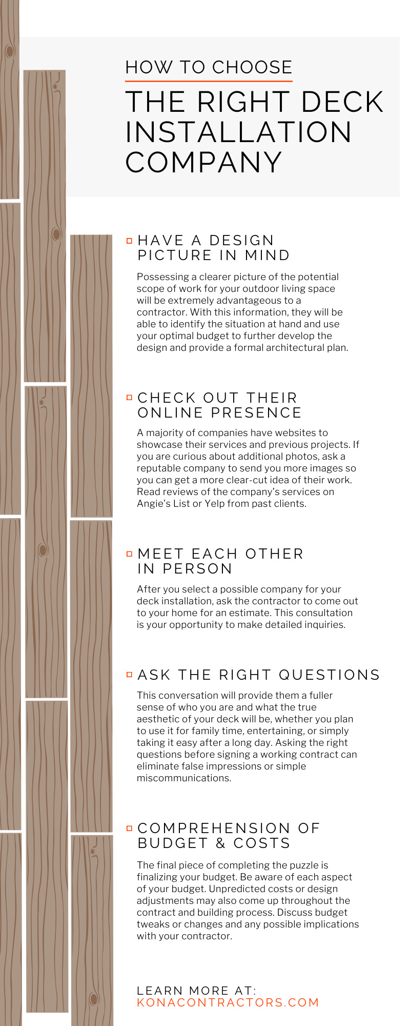 How To Choose the Right Deck Installation Company