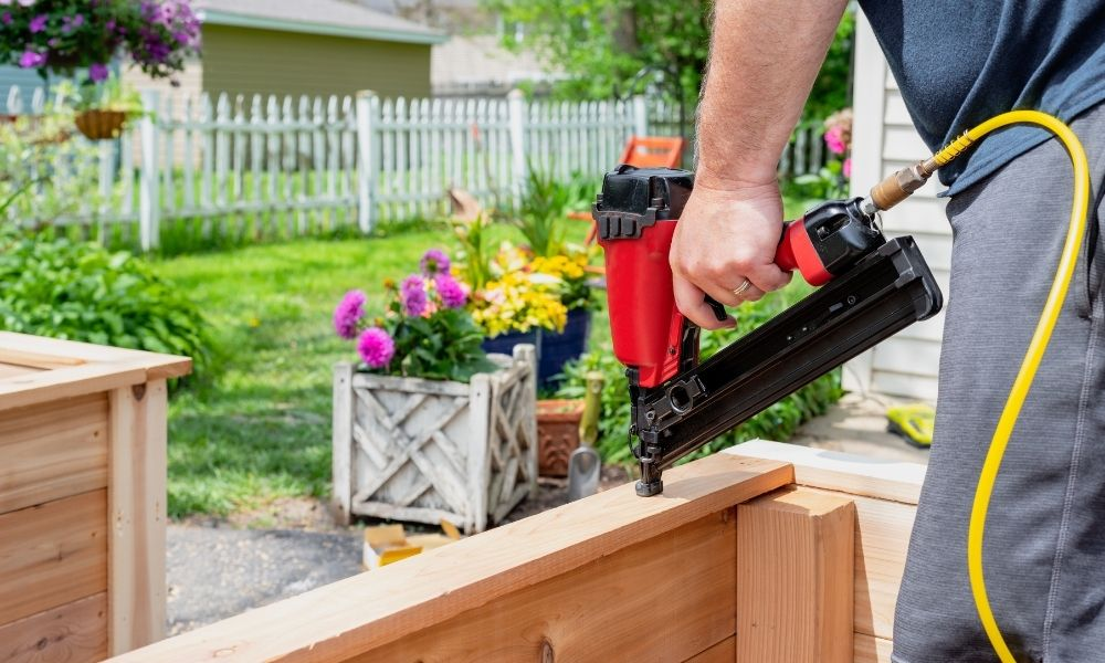 Home Projects You Can Do With a Nail Gun
