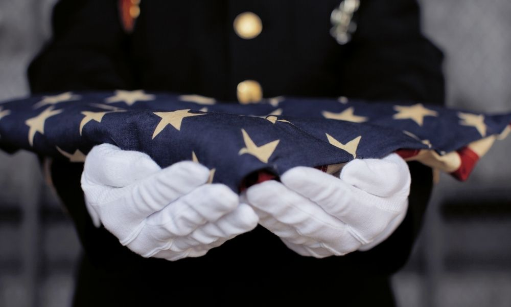 What Does a Full Honor Service Consist of at Arlington?