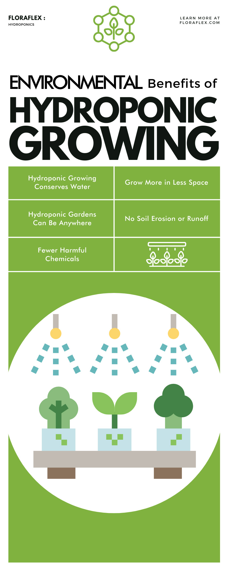 Environmental Benefits of Hydroponic Growing