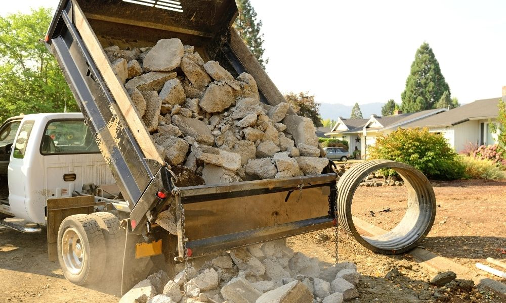 The Hazards of Unintended Movement of a Dump Truck