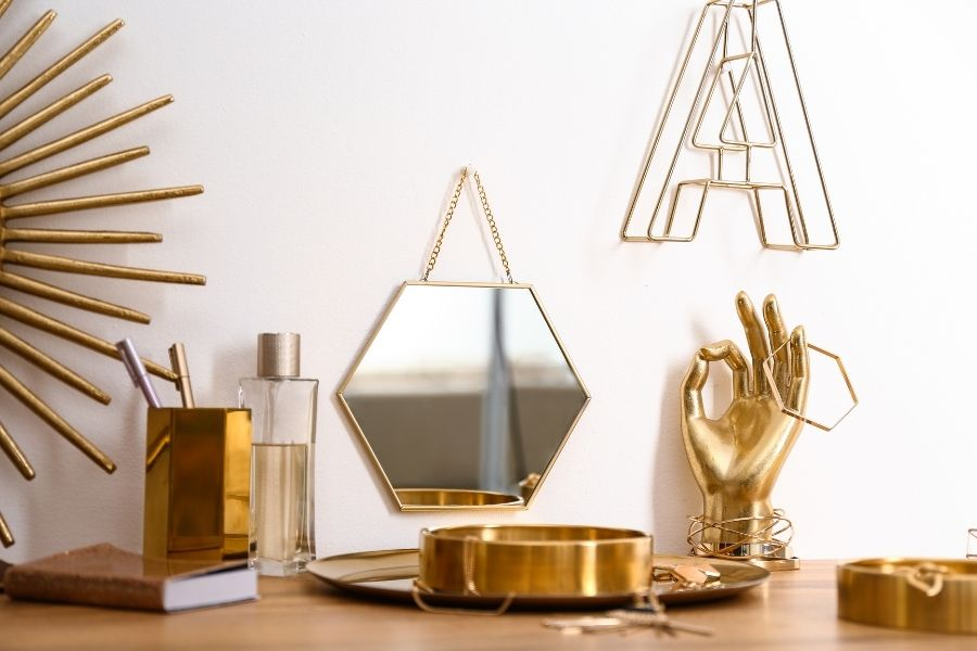 How To Mix Metals in Your Home Décor