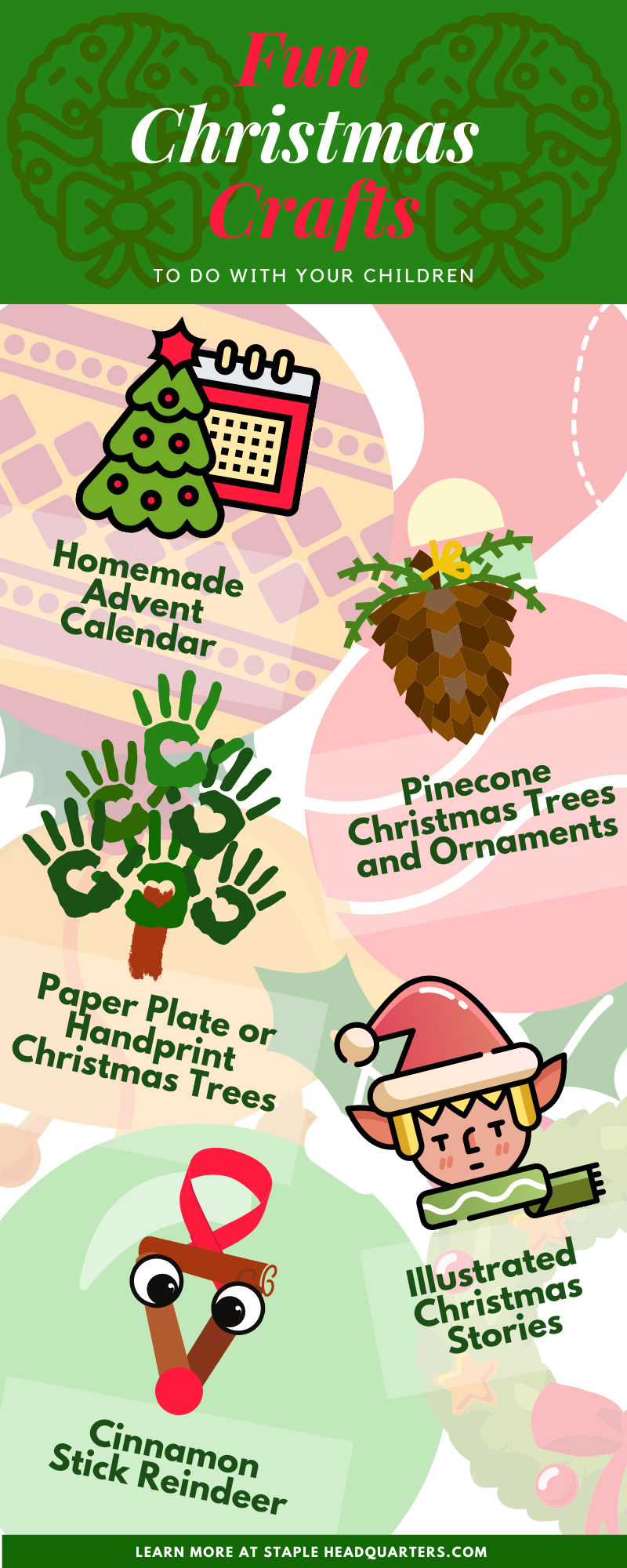 Fun Christmas Crafts To Do with Your Children